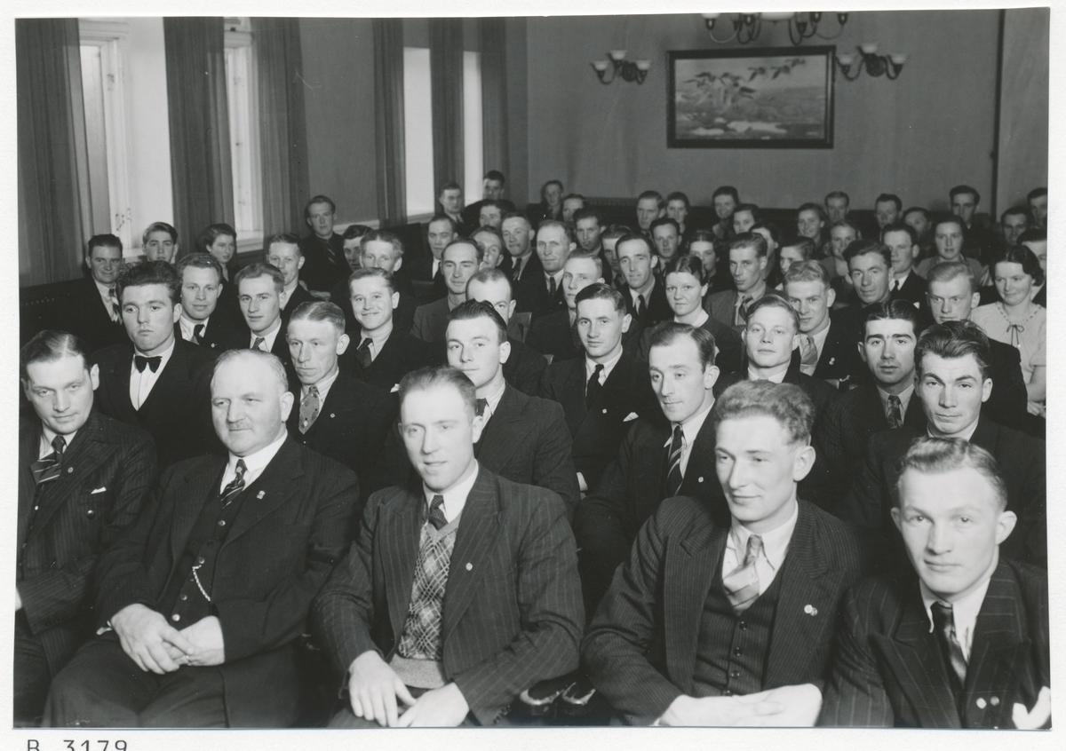 Riksdagsman Jonsson, Läckeby, Fritz Börjesson, Öland.