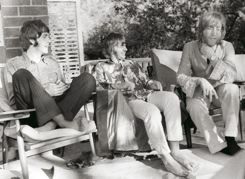 The Beatles i India