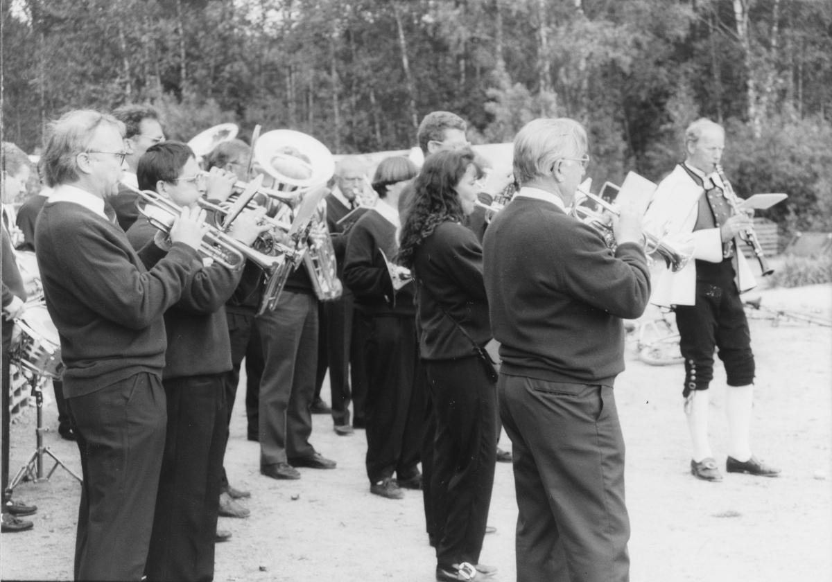 """Hakedalen Blæseorkester, """"Blæsern"""", et korps for voksne musikanter."""