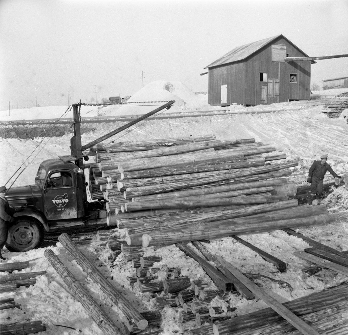 En serie bilder med anknytning till Sälboda gård tagen 55-03-22.
