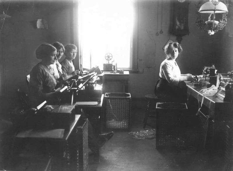 Telegrafstasjoner Lødingen interiør historisk (Foto/Photo)