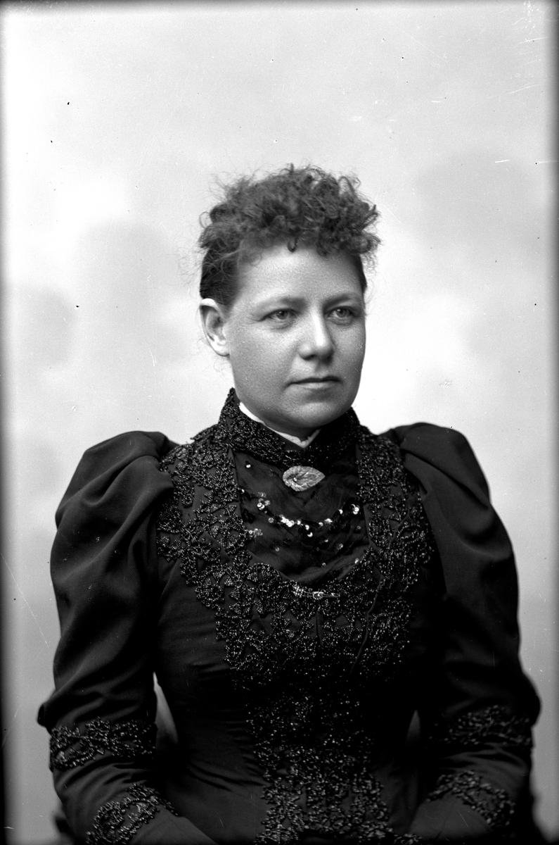 Fru Alsing, 1894. Fotograf okänd.