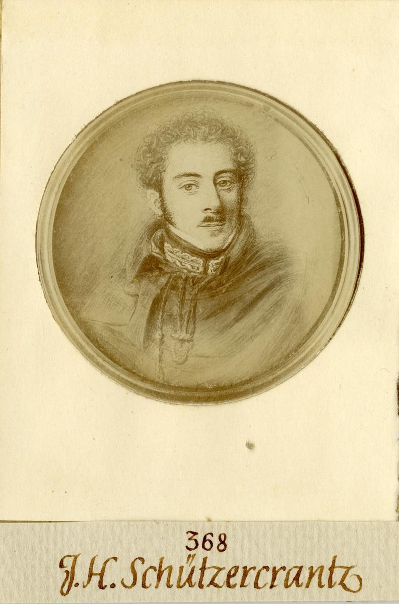 Porträtt av Johan Herman Schützercrantz, kapten vid Andra livgardet I 2.