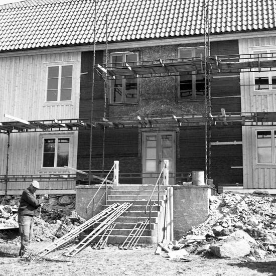 Kampen, Växjö, april 1971. Fotograf: A-B Jonsson.