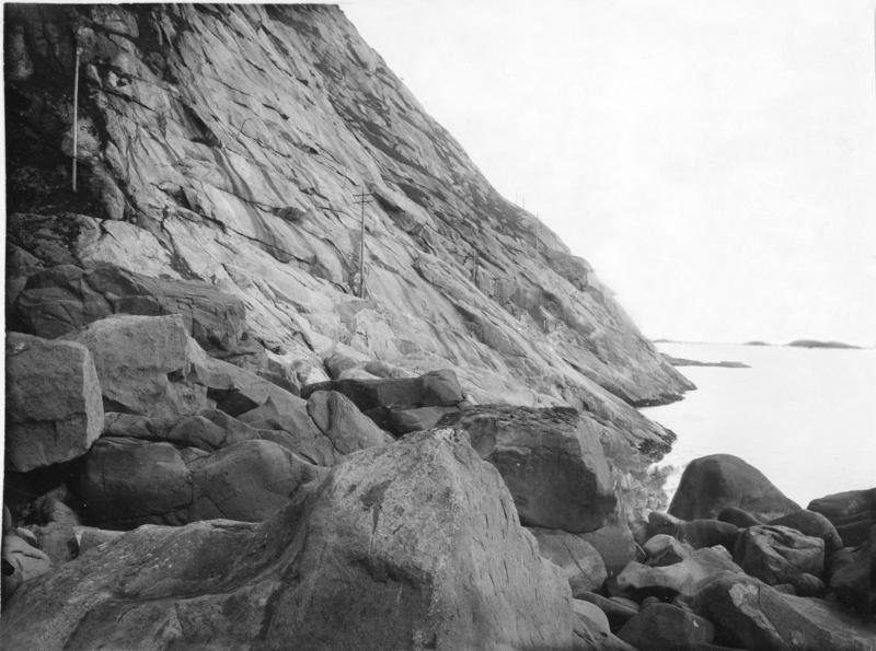Linjekurser. Lofoten mot Lødingen