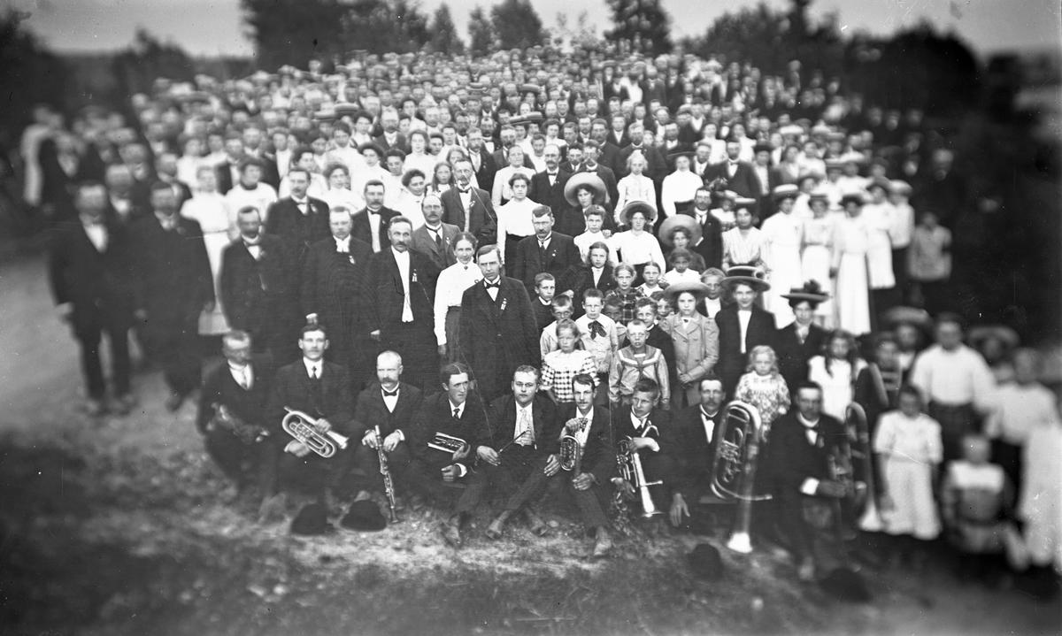 Sveriges Blåbandrörelse, omkring 1905. (Reproduktion)