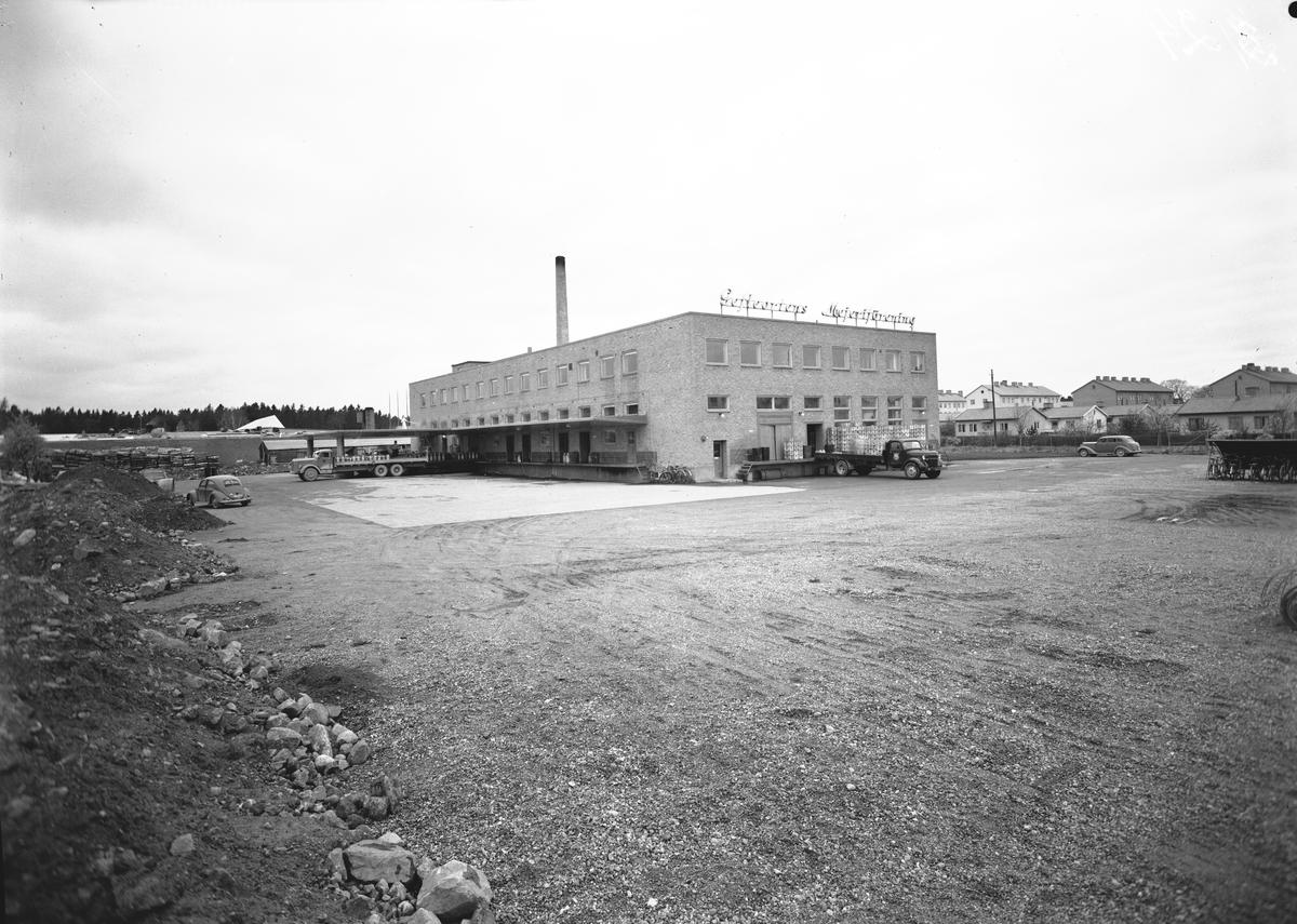 Oktober 1953. Gefleortens Mejeriförening.
