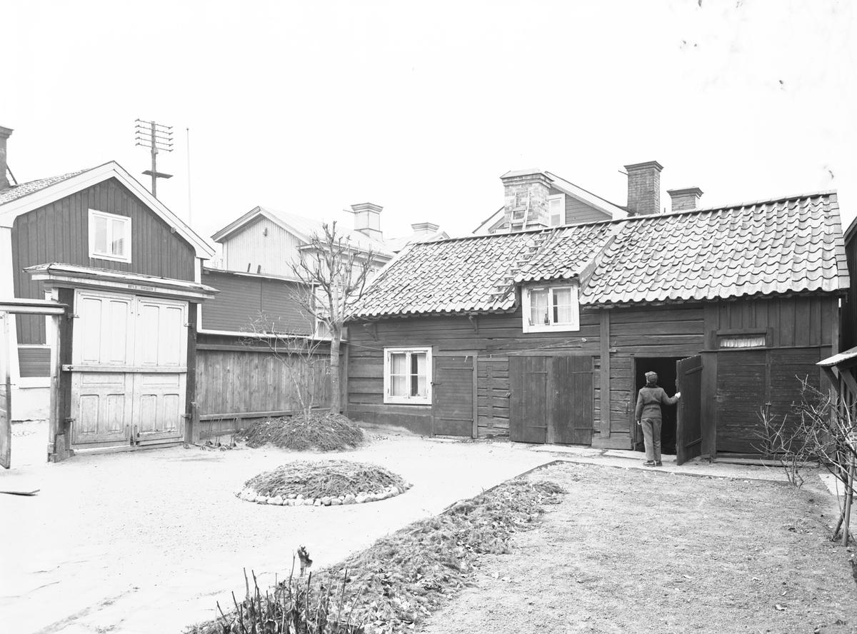 Gamla Gävle den 4 november 1953. Rote 8, Färgaren 5.