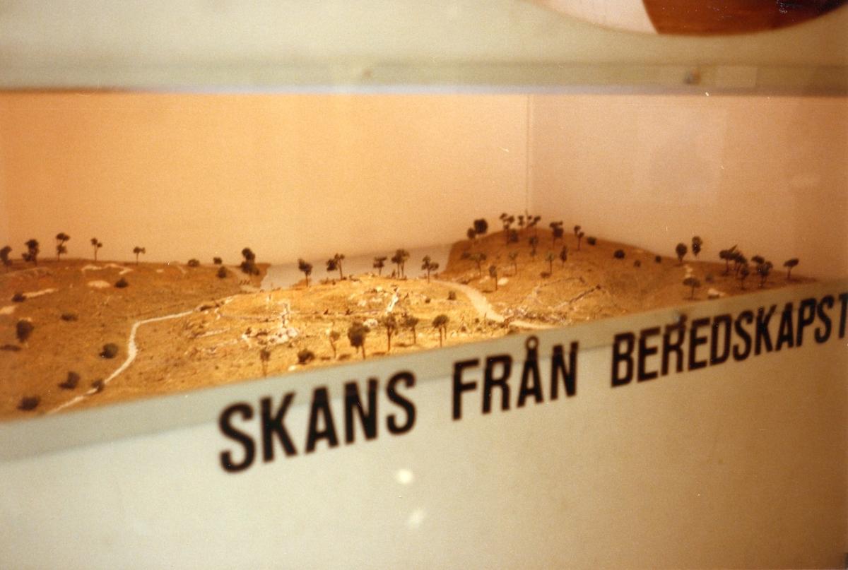 Studiebesök vid I 2 museum, Karlstad. Interiör.
