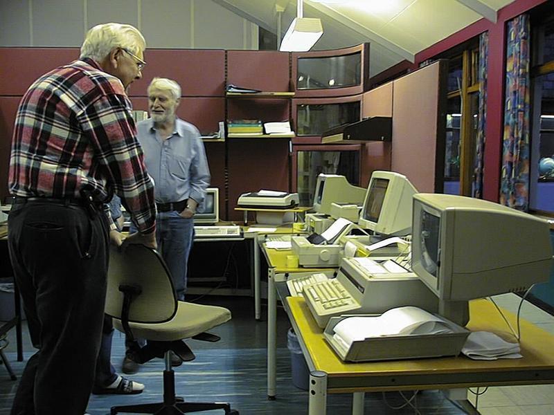 Radio- og kringkastingsstasjoner. Rogaland mottakerstasjon Skjæveland. Egil Egil Reimers (Foto/Photo)