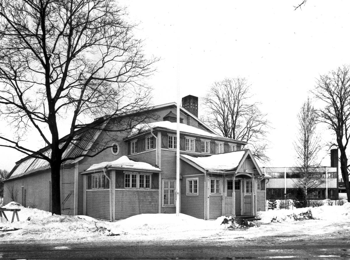 Tennishallen (B-hallen). År 1967