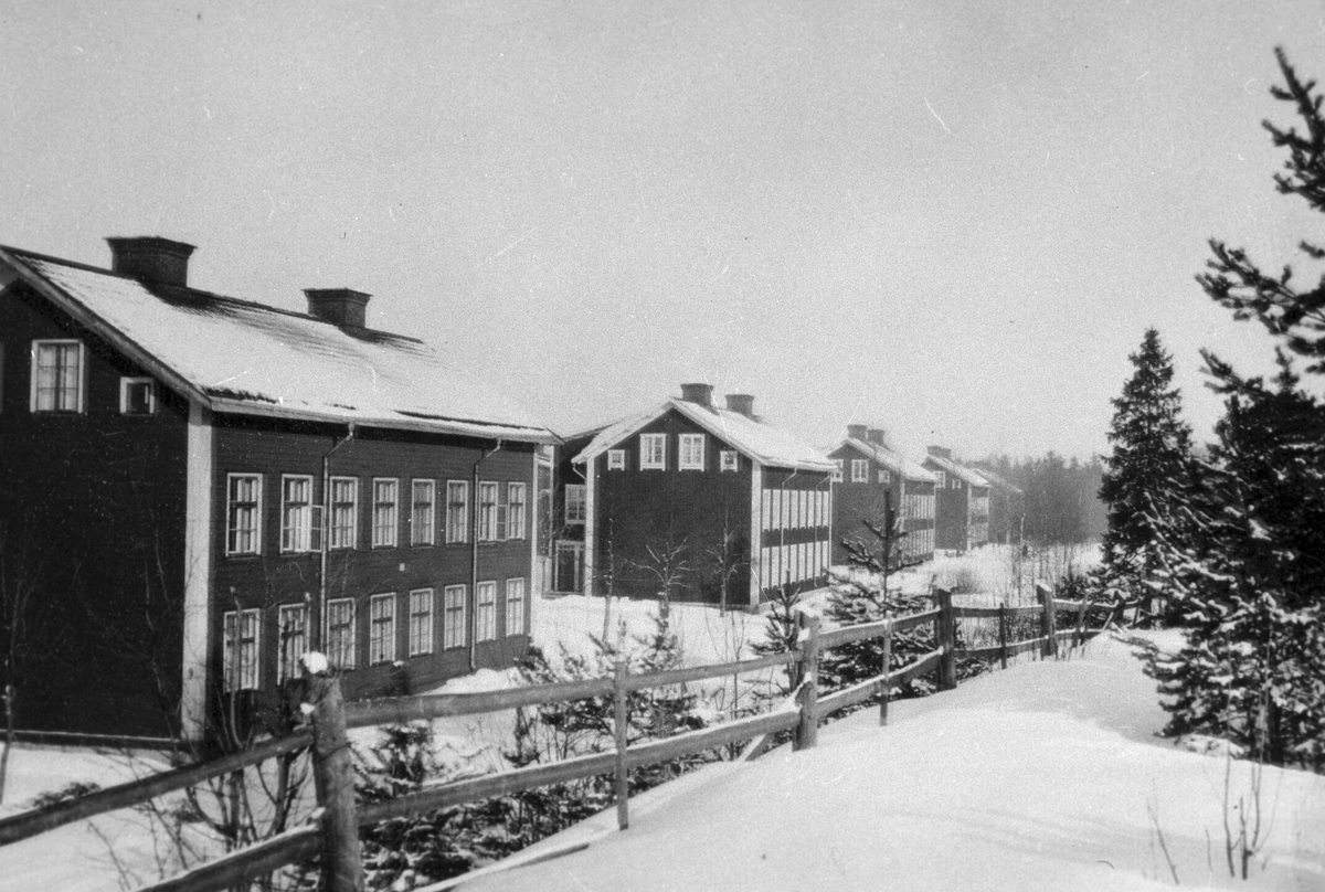 Rödkåkarna i Bomhus. Korsnäs