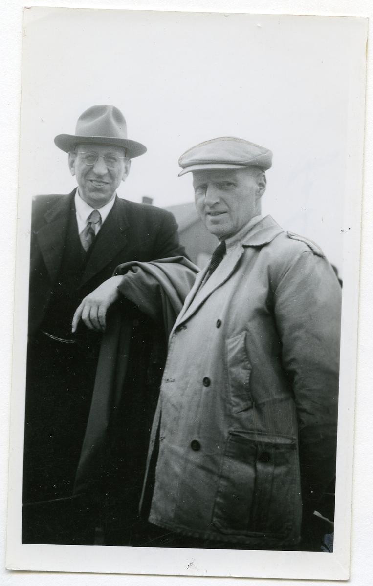 Neri Valen og statskonsulent Andres Lalim.