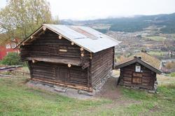 Sauestall med trev  på Ål Bygdamuseum, Leksvol