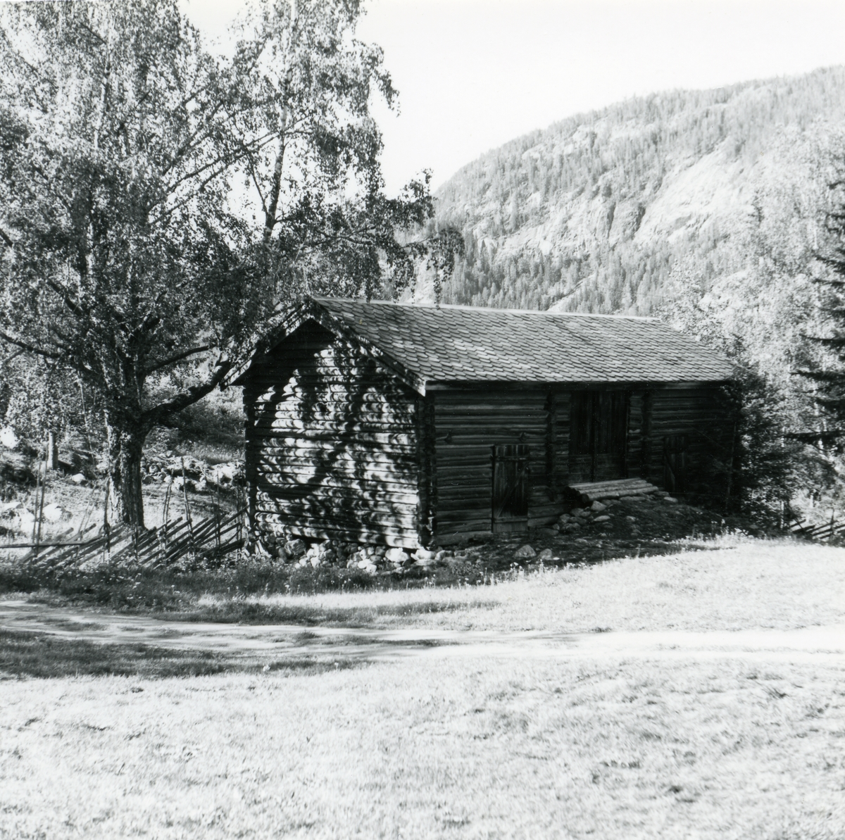 Låven fra Islandsmoen, Bagn Bygdesamling, Sør-Aurdal.