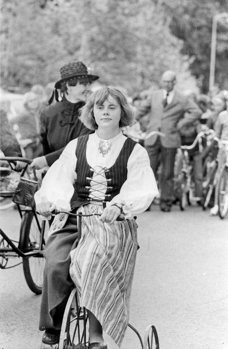 Köpings Museums 90-års jubileum, 4 juni 1977. F.d. museiintendenten.