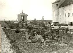 Det lilla lusthuset som förr fanns på Kalmar slott, öster om