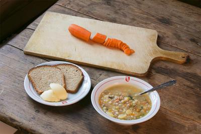 Oppskrift: Sodd, grynssodd, kjøttsuppe. Foto/Photo