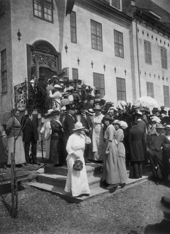 Bysamlingen på Norsk Folkemuseum 1914 (Foto/Photo)
