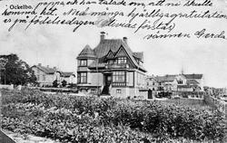 Villa Villekulla, Ockelbo. Vykort inlånat från Margit Hedman