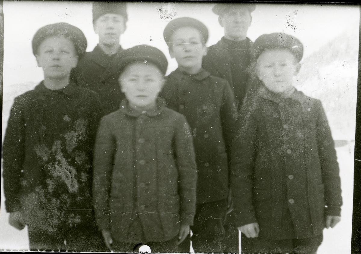 Barna på Nordre Øyhus.