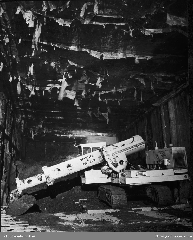 Oslotunnelen : Fra utgravingen av tunnelen under Studenterlunden