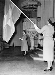 Karlsborg, Armelottakårens 25-årsjubileum i garnisonskyrkan