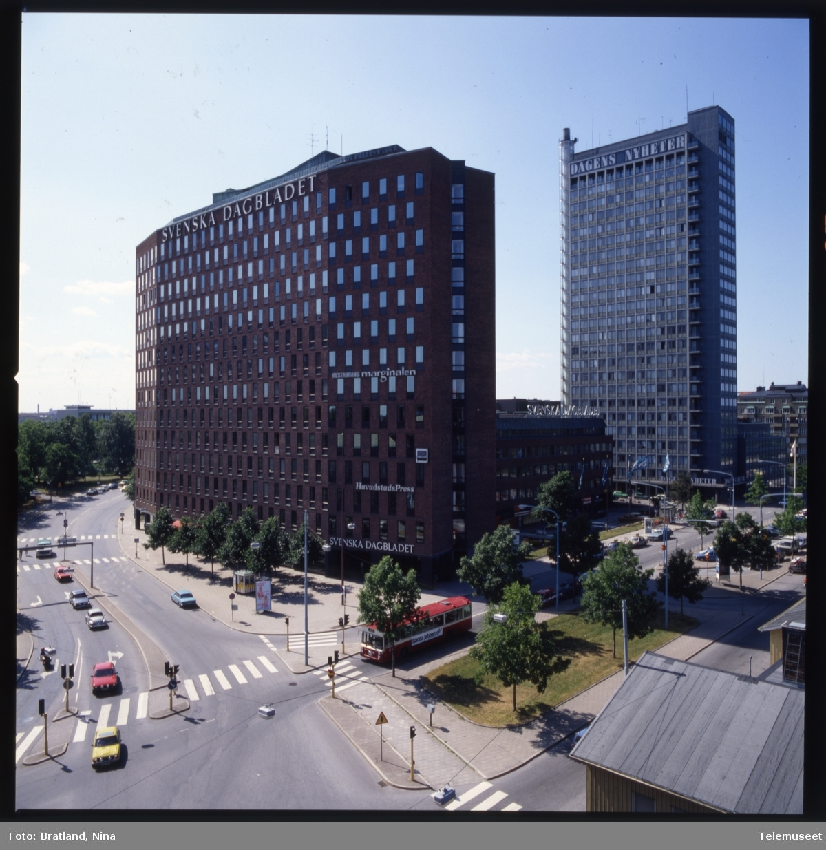 Bygning Norsk Data Svenska Dagbladet