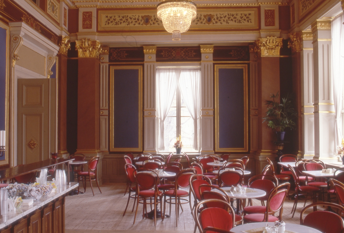 Gävle Teater byggdes 1878. Blev byggnads- minne 1987.