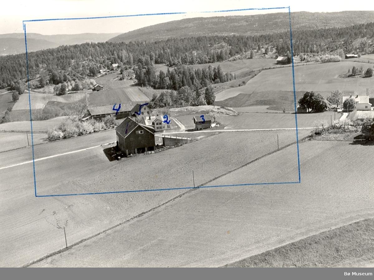 Flyfoto av Espedalen i Bø.