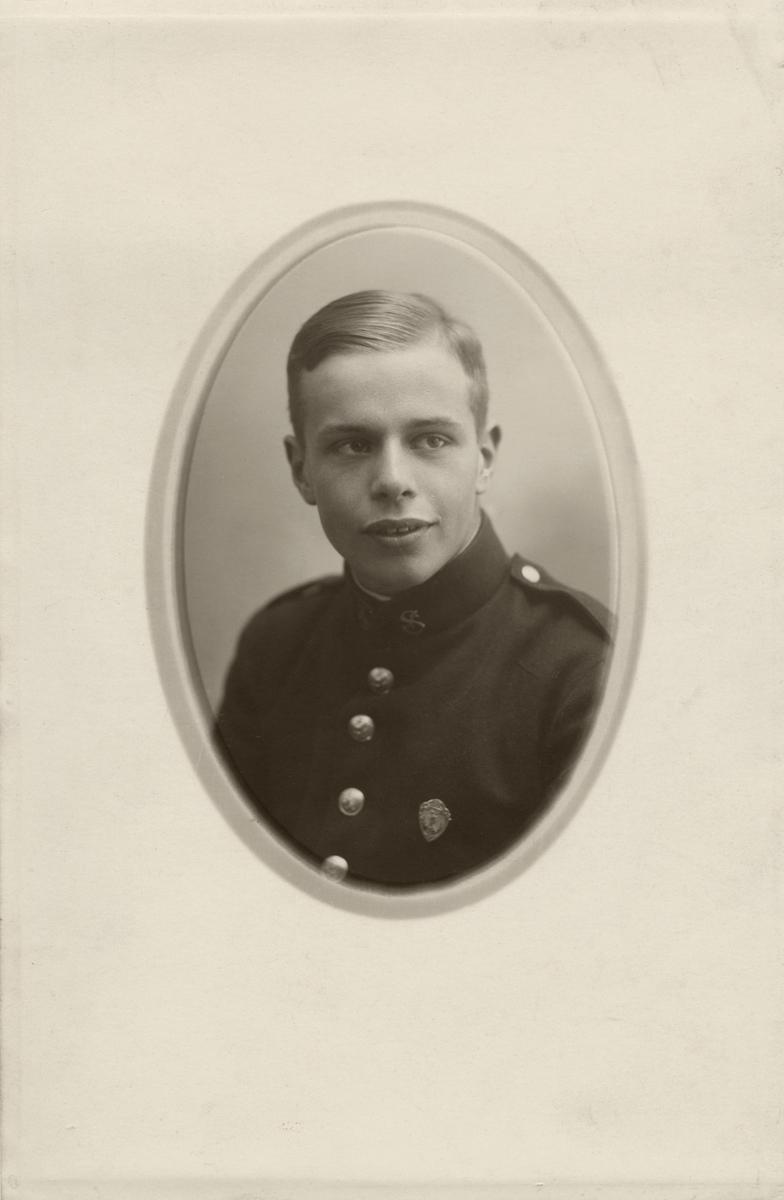 Mann, portrett, uniform