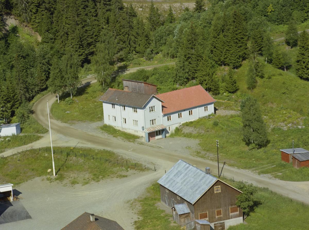 Heimtun (Friheim) forsamlingslokale, Vingnes, Kulturlandskap, bygninger, skog,vei, veg,