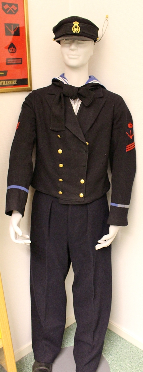 Uniform för underofficerskorpral
