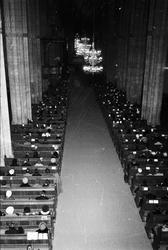 Ärkestiftet - högmässa, Uppsala, 1969