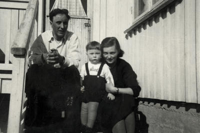 Familien Arntsen på 1950-tallet (Foto/Photo)