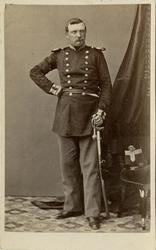 Porträtt av Adolf Georg Hjalmar Åberg, kapten vid Jönköpings