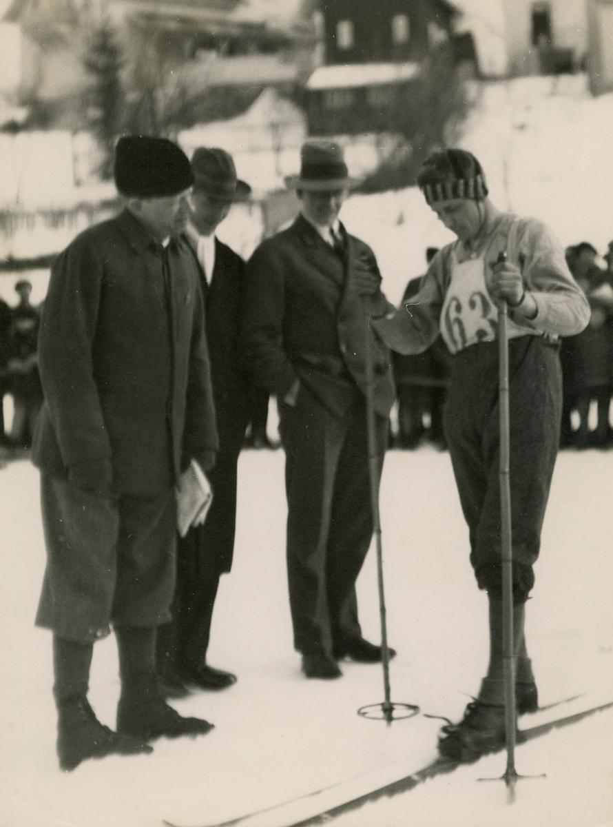 Lars Løvdahl during national siking competation at Kongsberg