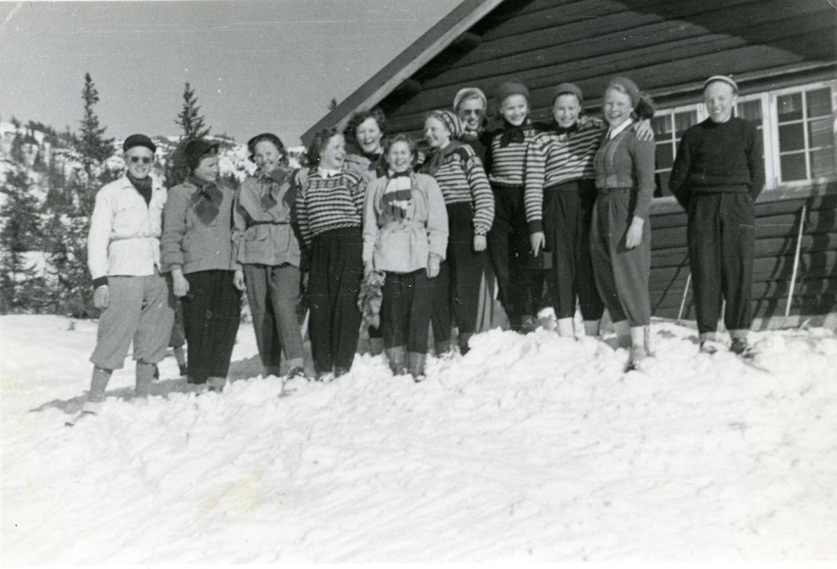 Framhaldsskolen i Reinli, 1951/52.