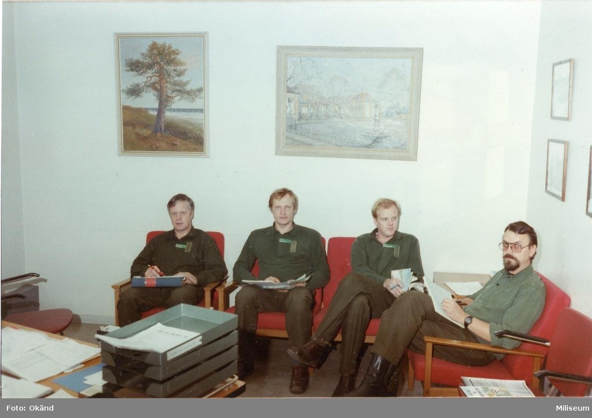 Meurling, Anders. Jan Knutsson. Svanström (?). Peter Jansson.