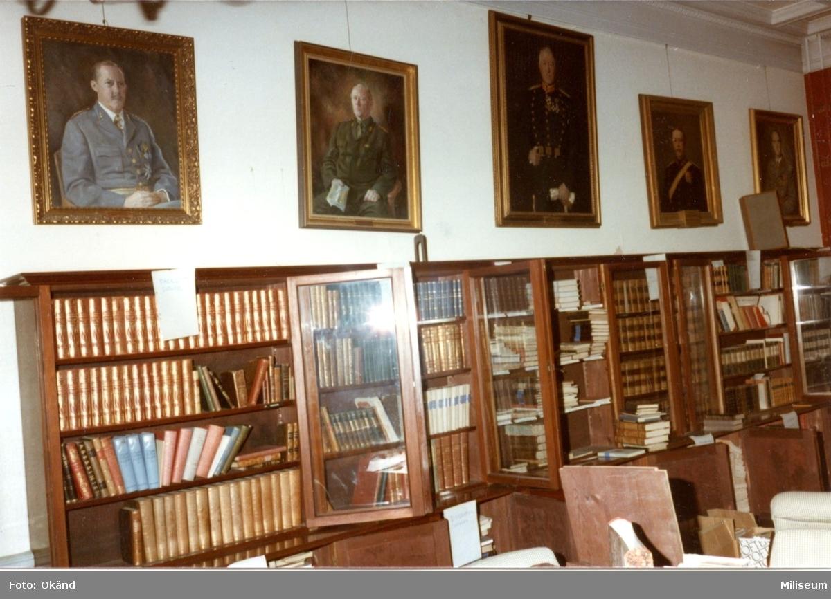 Regementsofficersmässen, A 6. Biblioteket.