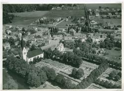 Flygfoto över Högsby.