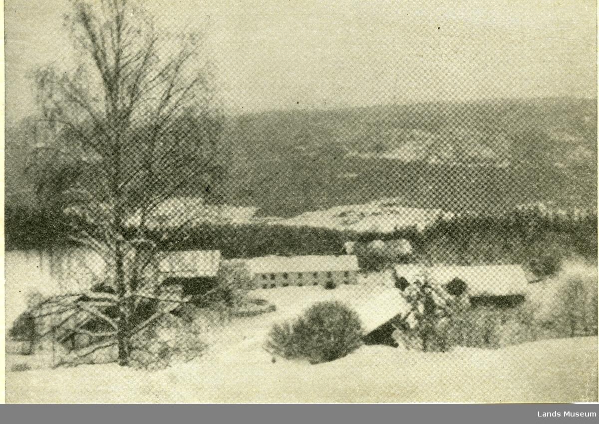 Enger. Postkort poststemplet 24.12.1959