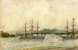 Skip i Oslofjorden [sjømotiv]