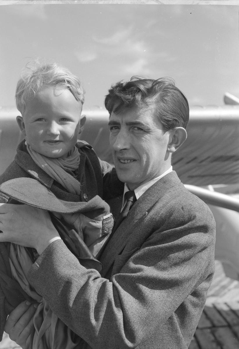Flytransport av liten pasient, Einar Henrik Kirknes