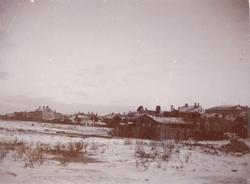 Kalmar i närheten av Ängöbron 1896.