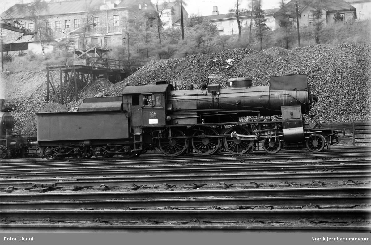 NSB damplokomotiv type 30b nr. 356