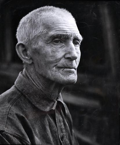 Porträtt av en Kårbölebonde, 1951.