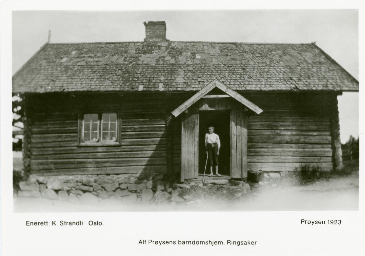 Alf Prøysens barndomshjem, Ringsaker.