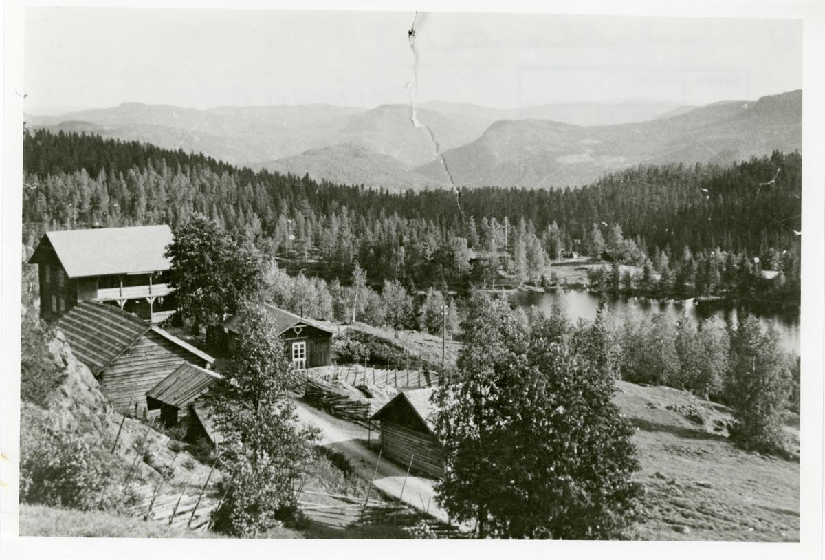 Milevatnet, Leirskogen, Sør-Aurdal