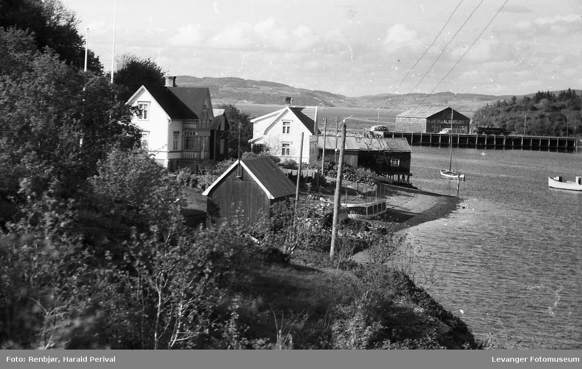 Levangernesset mot Levangersundet..